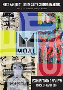 Post Basquiat Exhibit postcard