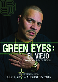 Green Eyes Exhibit postcard