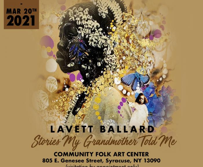 Lavell Ballard Exhibit poster