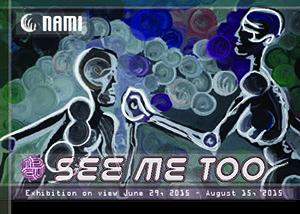 See Me Too 2015 Exhibit postcard