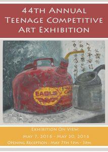 44th Teenage exhibit postcard